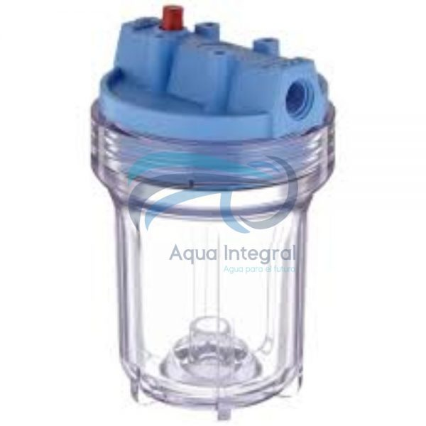 carcasa-slim-5-portacartuchos-transparente-para-filtros-pentek-pentair-transparente